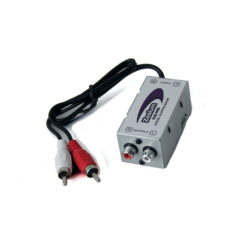Zealum ZUS-ANS ground loop isolater noise filter ontstoorfilter audio rca