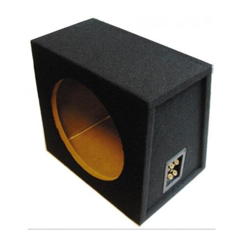 MDF Subwoofer behuizing kist box dichte gesloten sealed enclosure 15 inch