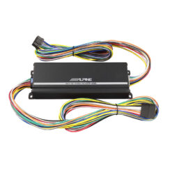 alpine KTP-445A headunit power pack plug play versterker