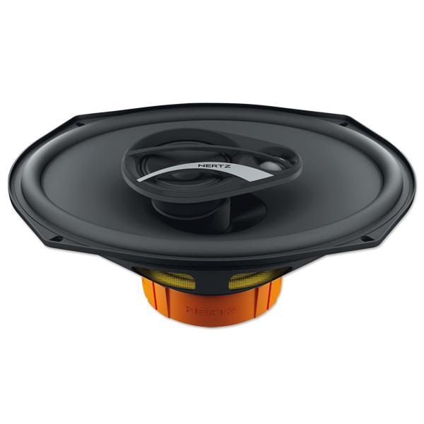 Hertz DCX710.3 speakers