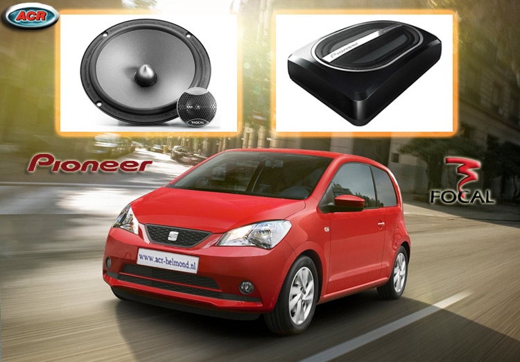 Seat Mii Audio Upgrade Soundsystem 2-0