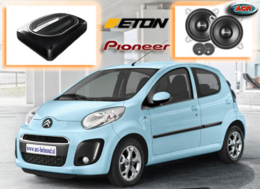 Citroen C1 Audio Upgrade Soundsystem 2