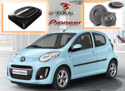 Citroen C1 Audio Upgrade Soundsystem 1