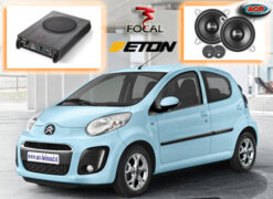 Citroen C1 Audio Upgrade Soundsystem 3