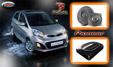 Kia Picanto Audio Upgrade Soundsystem 1