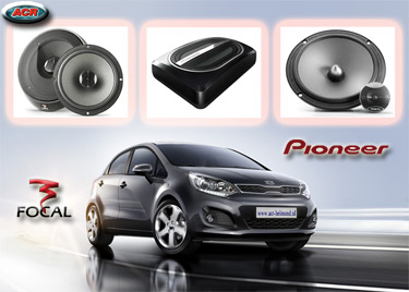 Kia Rio Audio Upgrade Soundsystem 2