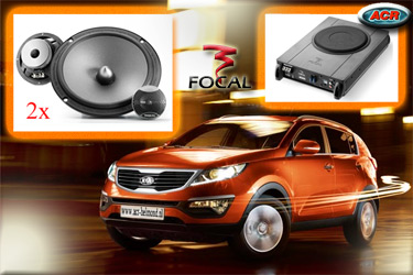 Kia Sportage Audio Upgrade Soundsystem 1