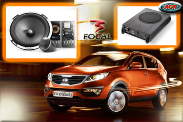 Kia Sportage Audio Upgrade Soundsystem 2