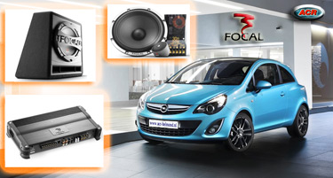 Opel Audio Upgrade Soundsystem 4