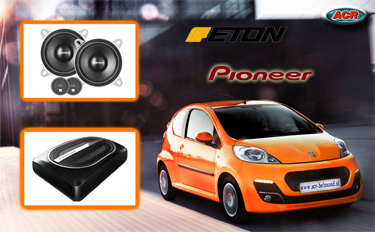 Peugeot 107 Audio Upgrade Soundsystem 2
