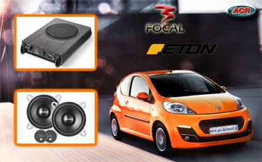 Peugeot 107 Audio Upgrade Soundsystem 4