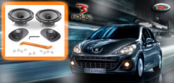 Peugeot 207 Audio Upgrade Soundsystem 1
