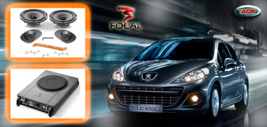 Peugeot 207 Audio Upgrade Soundsystem 2