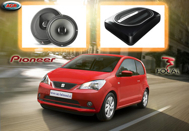 Seat Mii Audio Upgrade Soundsystem 1