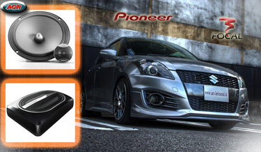 Suzuki Swift Audio Upgrade Soundsystem 1
