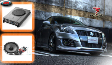 Suzuki Swift Audio Upgrade Soundsystem 3