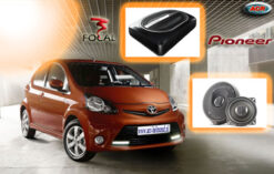 Toyota Aygo Audio Upgrade Soundsystem 1