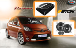 Toyota Aygo Audio Upgrade Soundsystem 2