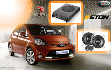 Toyota Aygo Audio Upgrade Soundsystem 4