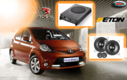 Toyota Aygo Audio Upgrade Soundsystem 3