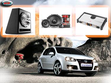 VW Golf 5 Audio Upgrade Soundsystem