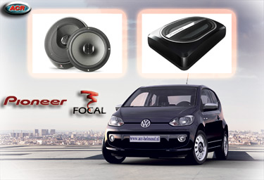 VW UP Audio Upgrade Soundsystem 1