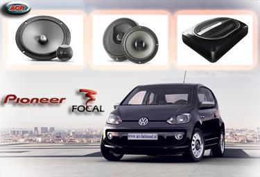 VW UP Audio Upgrade Soundsystem 3-0