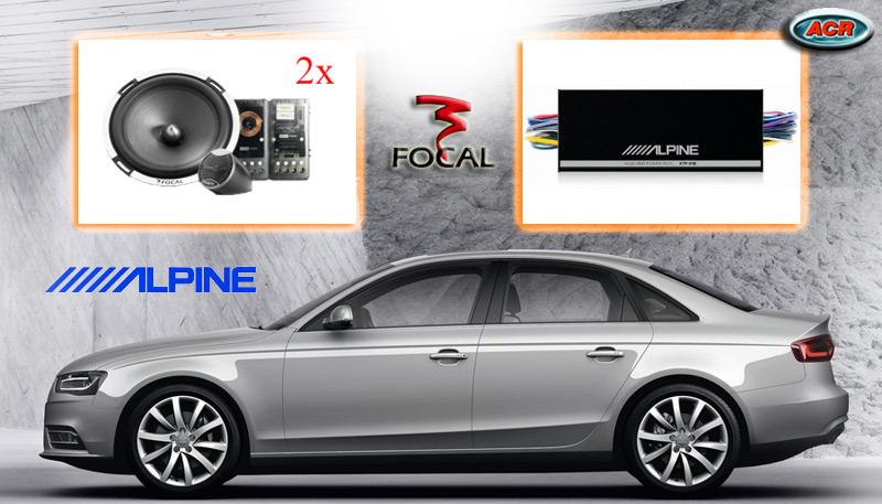 Audi A4 Audio Upgrade Soundsystem 1