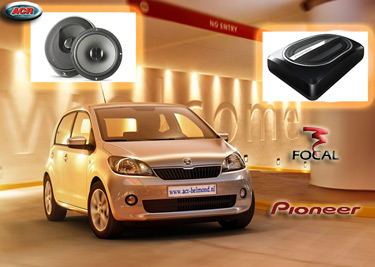 Skoda Citigo Audio Upgrade Soundsystem 1