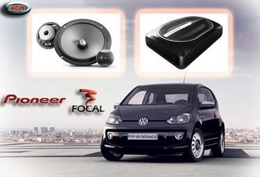 VW UP Audio Upgrade Soundsystem 2