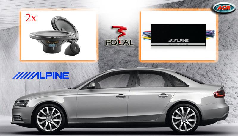 Audi A4 Audio Upgrade Soundsystem 2-0