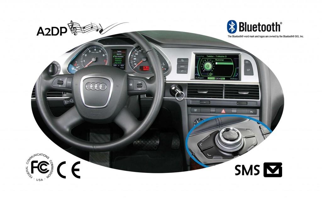 Fiscon Bluetooth carkit Pro Audi MMI 2G -0