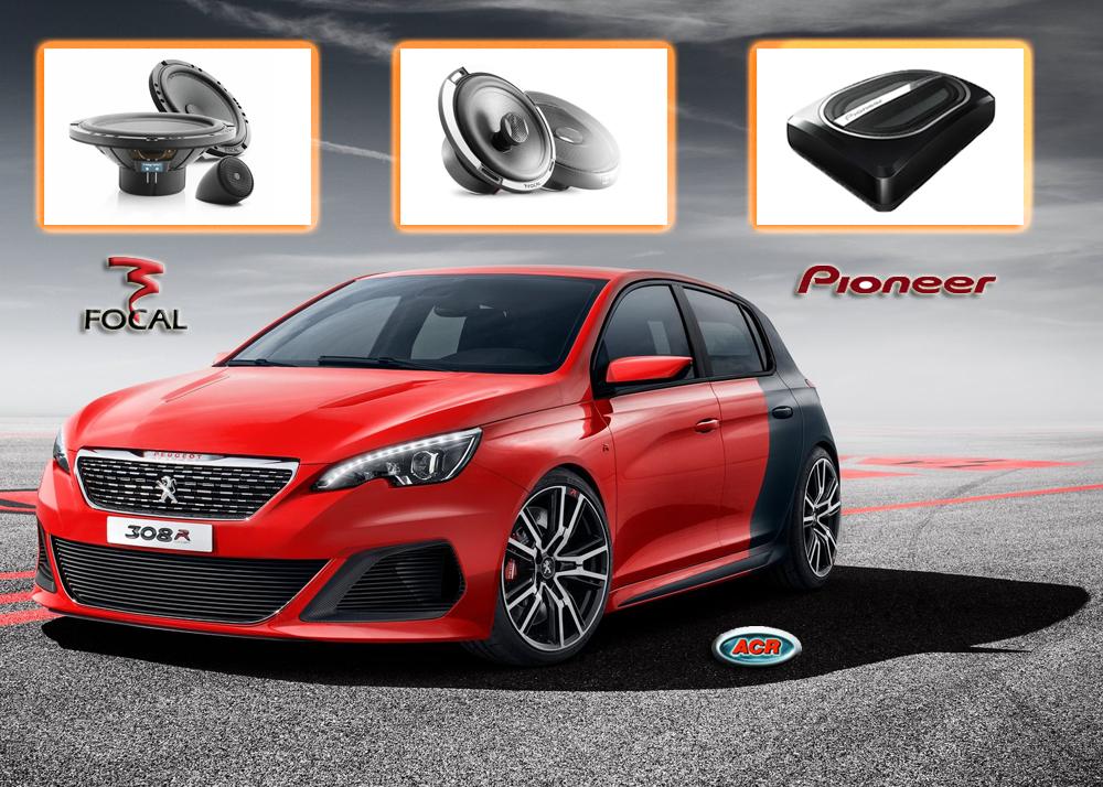 Peugeot 308 sound set audio hifi upgrade verbeteren geluid muziek