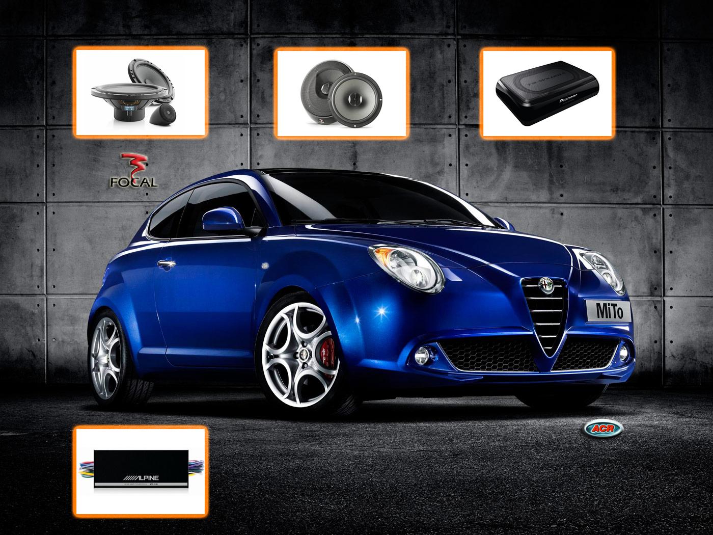 Alfa Romeo MiTo Audio Upgrade Soundsystem 3-0