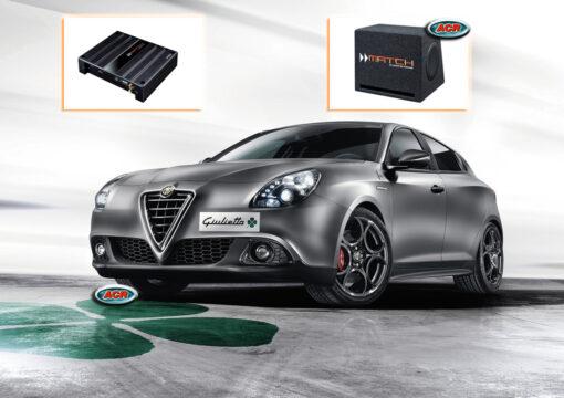 Alfa Giulietta Audio Upgrade Speakers vervangen verbeteren geluid installatie hifi sound