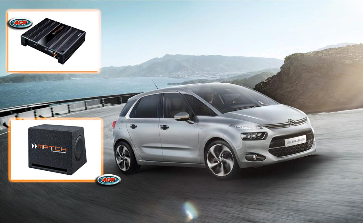 Citroen C4 Grand Picasso Audio Upgrade Speakers vervangen verbeteren geluid installatie hifi sound muziek