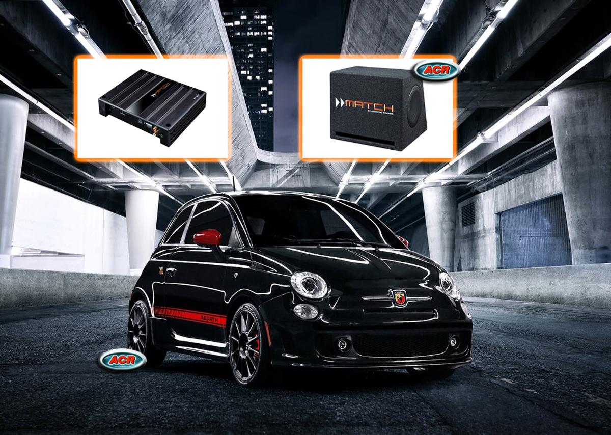 Fiat 500 Audio Upgrade Speakers vervangen verbeteren geluid installatie hifi sound