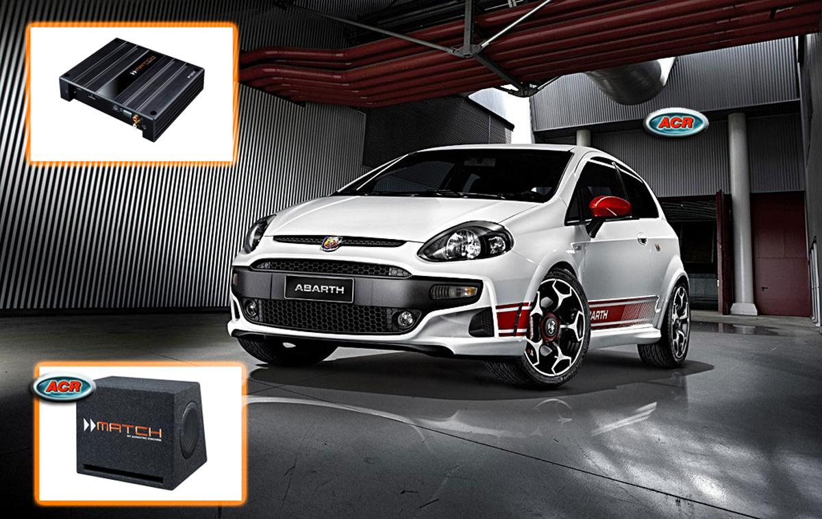 Fiat Grande Punto Audio Upgrade Speakers vervangen verbeteren geluid installatie hifi sound