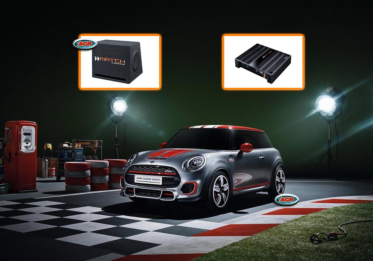Mini Cooper One S Audio Upgrade Speakers vervangen verbeteren geluid installatie hifi sound