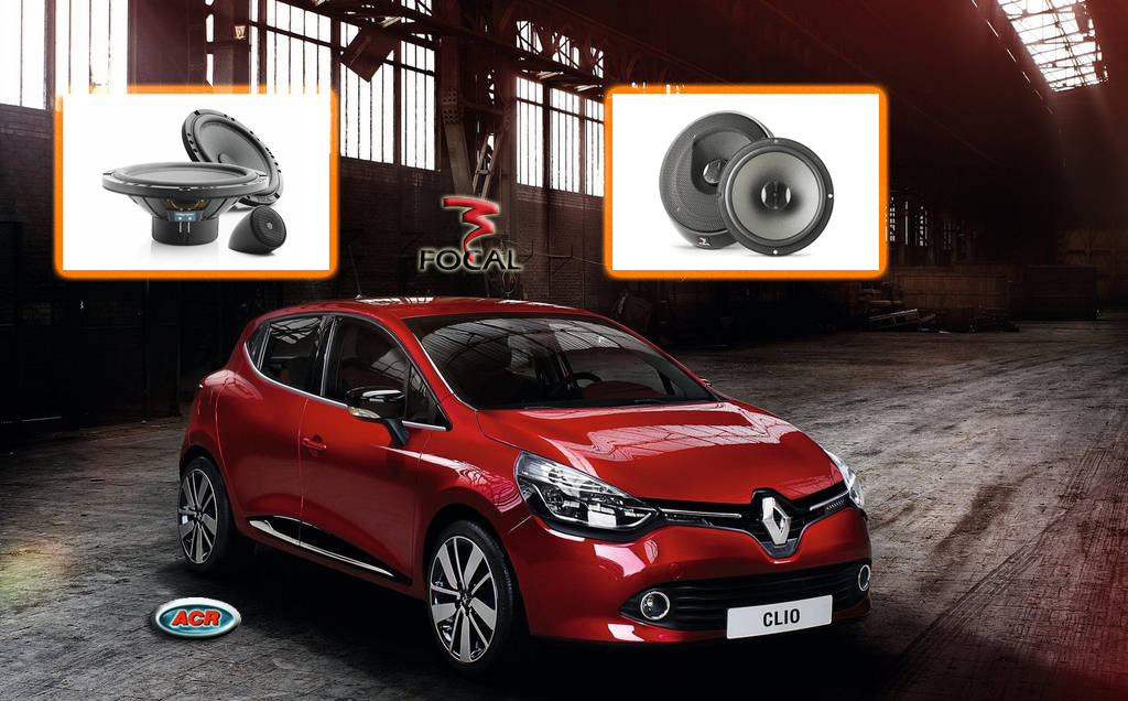 Renault clio r-link audio stereo hifi upgrade speakers luidsprekers