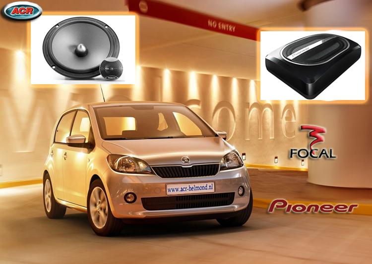 Skoda Citigo Audio Upgrade Soundsystem 2-0