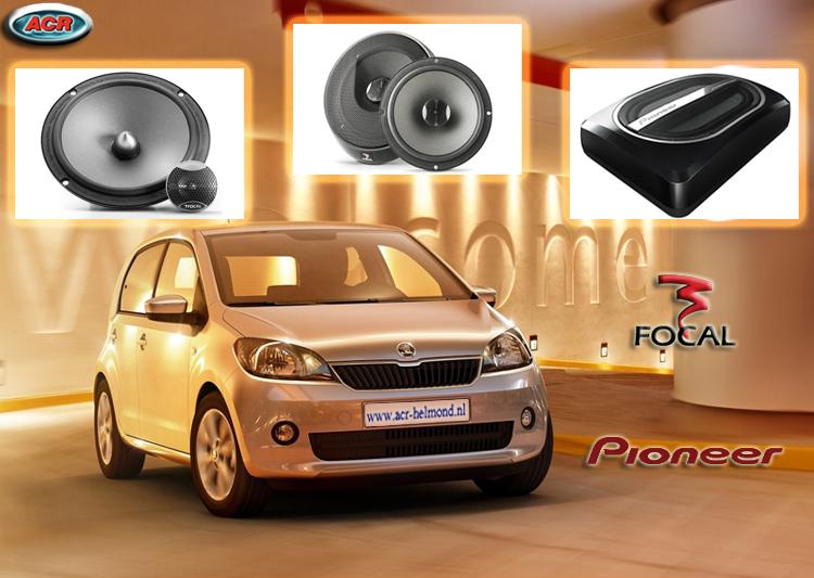 Skoda Citigo Audio Upgrade Soundsystem 3-0
