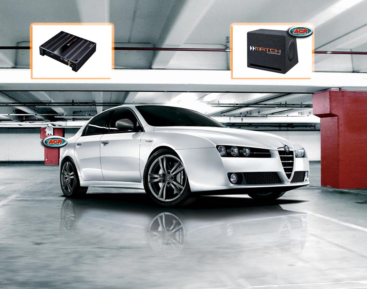 Alfa 159 Sportswagon Audio Upgrade Speakers vervangen verbeteren geluid installatie hifi sound
