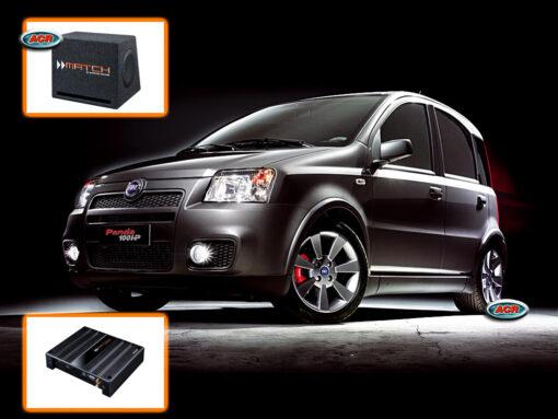 Fiat Panda Audio Upgrade Speakers vervangen verbeteren geluid installatie hifi sound