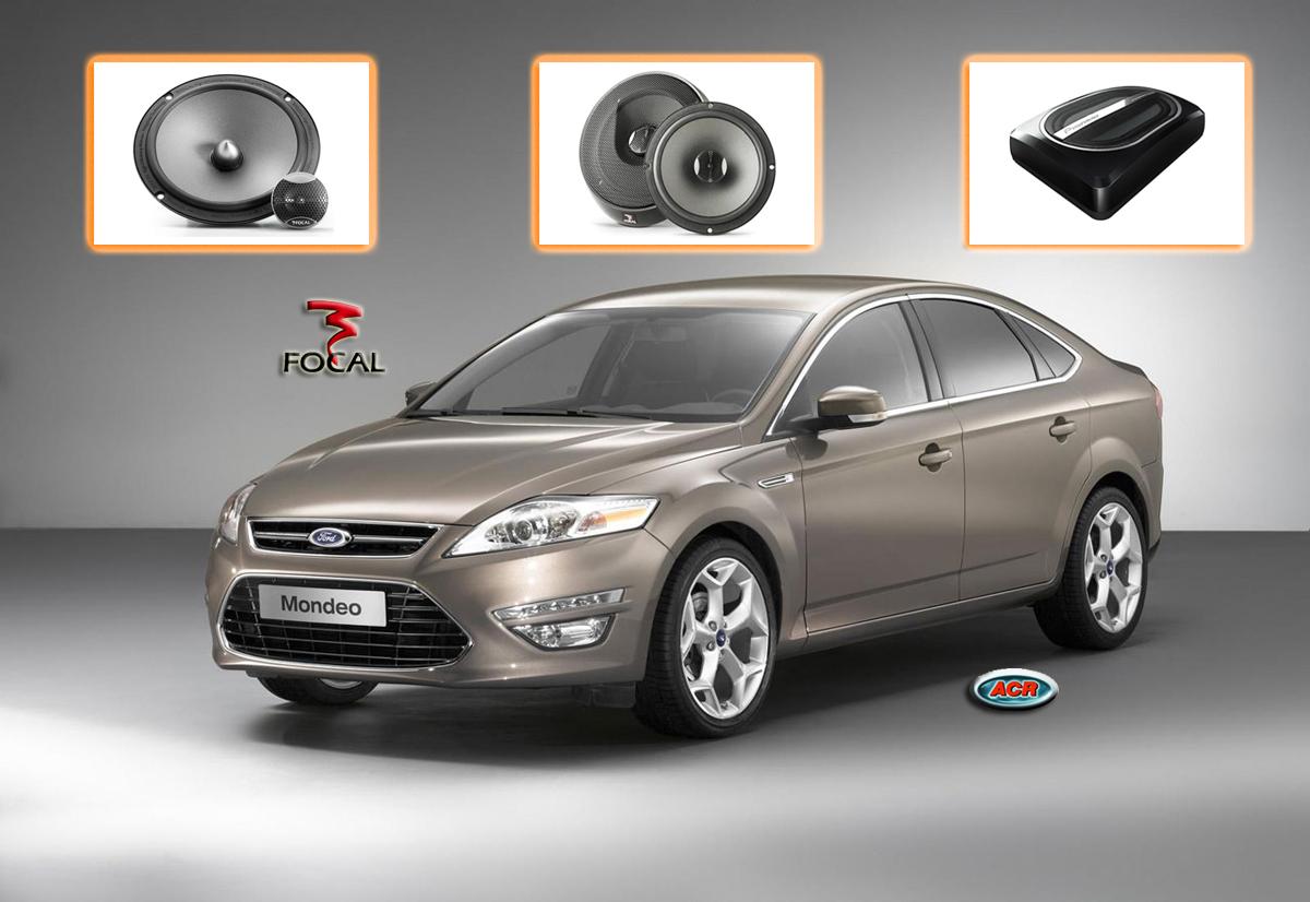 Ford Mondeo Audio Upgrade Speakers Sound set installatie