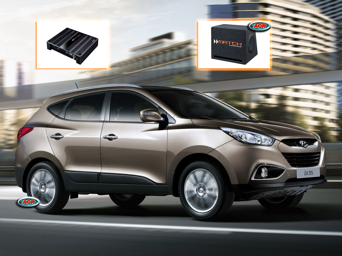 Hyundai ix35 Audio Upgrade Speakers vervangen verbeteren geluid installatie hifi sound