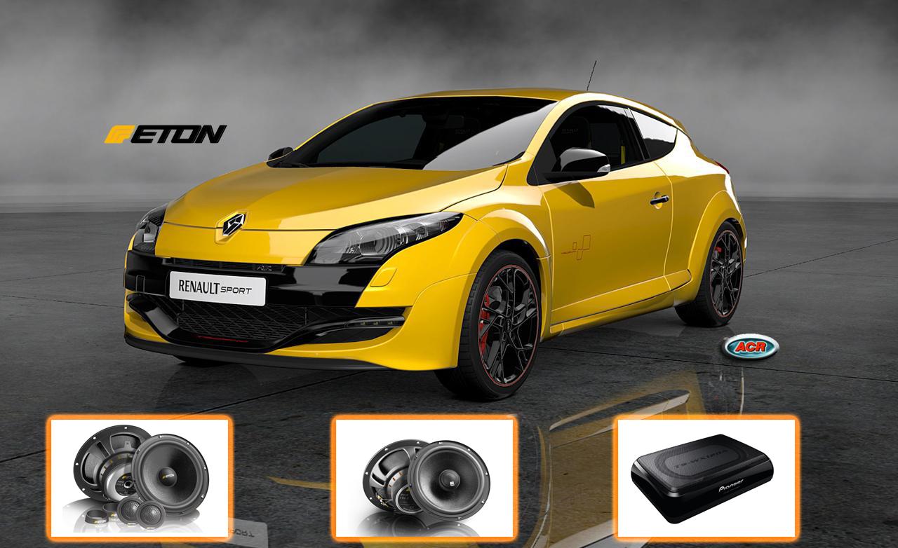 Renault Megane Audio Upgrade Sound Pakket Geluid speaker