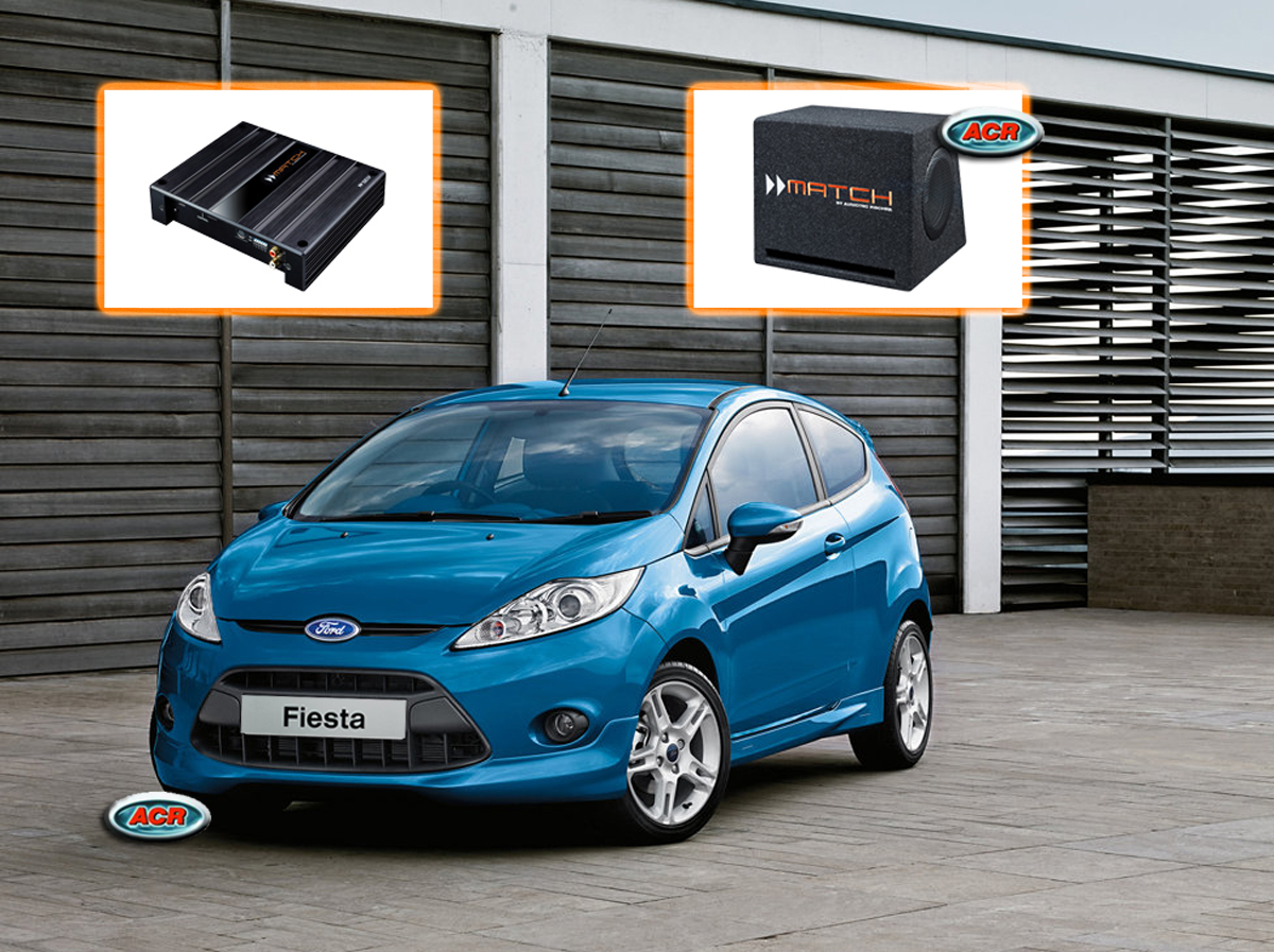 Ford Fiesta MK6 MK7 Audio Upgrade speakers vervangen verbeteren geluid installatie hifi sound muziek set