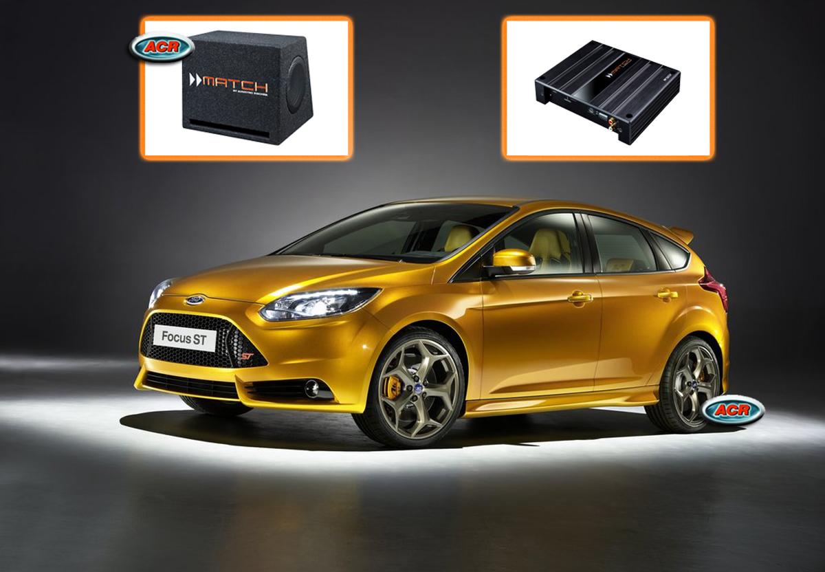 Ford Focus MK3 C346 Audio Upgrade Speakers vervangen verbeteren geluid installatie hifi sound muziek