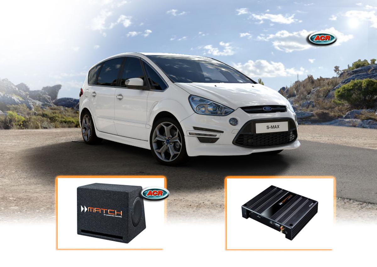 Ford S-Max Audio Upgrade Speakers Vervangen Verbeteren Geluid Installatie Hifi Sound Muziek Set